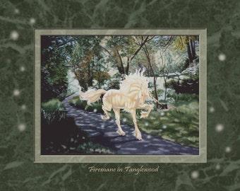Firemane in Tanglewood 8x10 Print