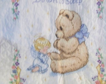 Guardian Angel Baby Quilt