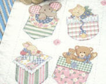 Sunset Baby Patches Quilt KIT