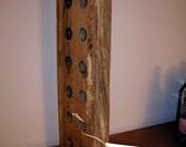 Twelve Bottle Wine Bat, Wine rack