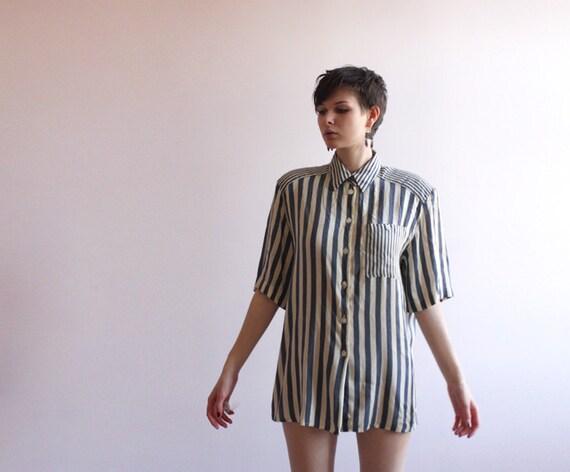 Gerry Weber striped silk blouse