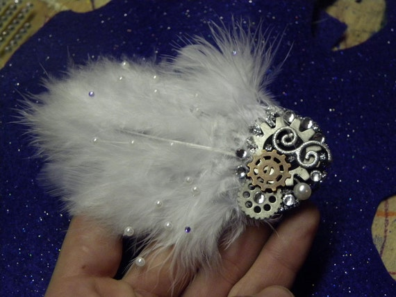 It's Time Feather Hair Clip
