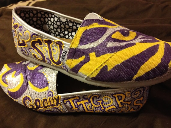 LSU Tailgating Shoes (TOMS)