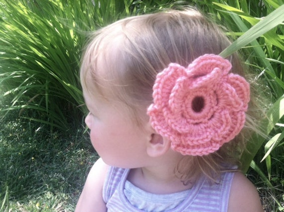 Flower Hair Clip - Specify Colors at Checkout