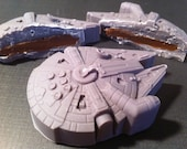 Millennium Falcon Truffles. 3 Pack, Filling of your choice. Star Wars Candy.