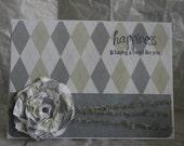 Happiness friend card - Handmade