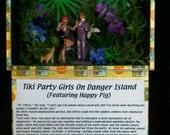 Tiki Party Girls On Danger Island  Chapter 13 Dr. Viktor Slimes Bettie