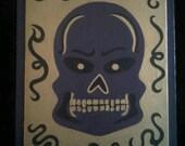 Purple Mystic Skull