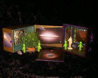 UFO Cigar Box Playset Set