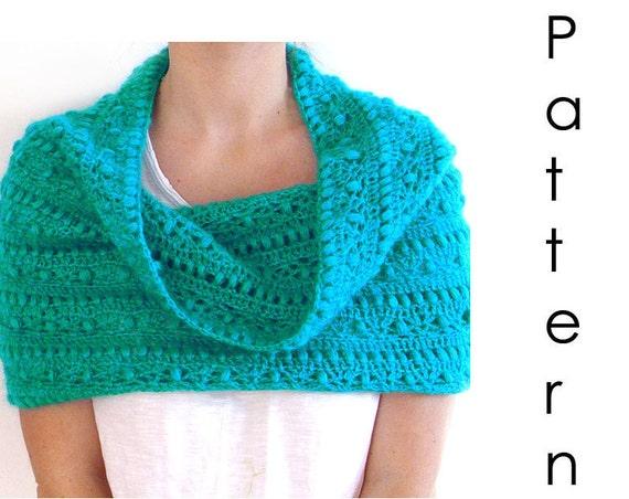 Crochet pattern Pdf- crochet cowl