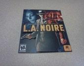 Mini 3D L.A. Noire Poster