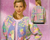 Butterick Sewing Pattern BP176: Misses' Quilted Jacket (L-XL)
