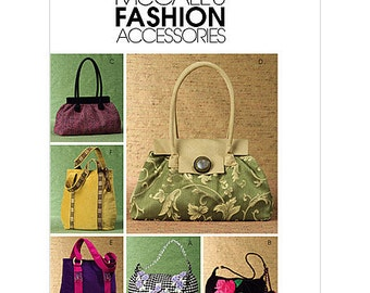 McCall's Fashion Accessories Sewing Pattern M4936 - Handbags