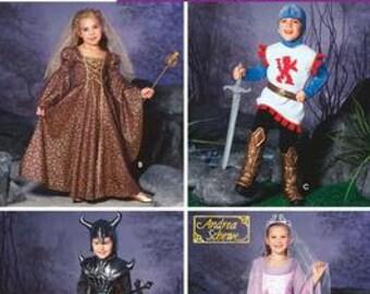 Simplicity Costume Pattern 0504 (aka 5520) - Child's Fantasy Costumes