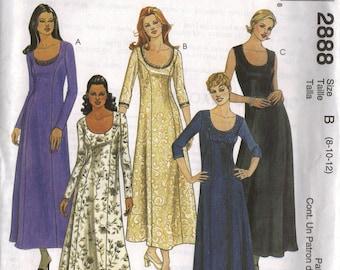 "McCall's ""Fashion Basics"" Sewing Pattern 2888 - Misses' Dress (8-12, 10-14, 12-16, 18-22)"