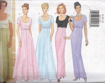 Butterick Sewing Pattern 4824 - Misses' Dresses (8-12)