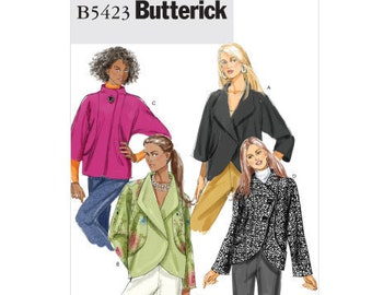 Butterick Sewing Pattern B5423 - Misses' Jacket (6-12, 14-20)