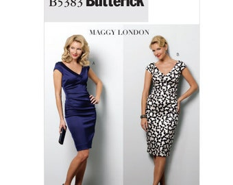 Butterick Sewing Pattern B5383 - Misses' Dresses (14-20)