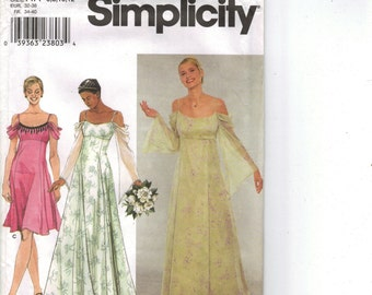 Simplicity Sewing Pattern 9125 - Misses' Lightweight Dress (6-12)