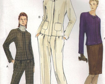 Vogue Sewing Pattern 7149 - Misses' Jacket, Skirt & Pants (6-10, 12-16)