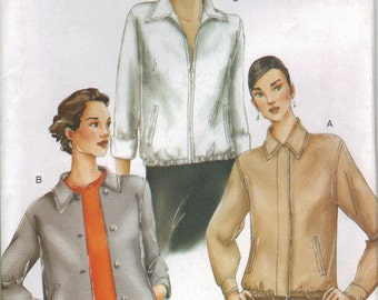 Vogue Sewing Pattern 7235 - Misses' Jacket (6-10, 12-16)