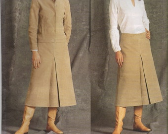 Vogue Sewing Pattern 2455 - Misses' Jacket, Skirt & Blouse (8-12)