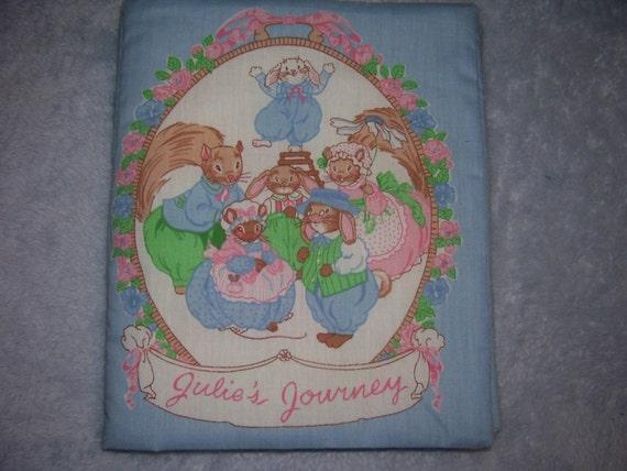"Soft Baby Book, ""Julie's Journey"""