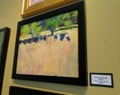 Abstract Landscape Painting by Mickey Cunningham