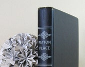 Peyton Place - Grace Metalious - Vintage 1956 Black and White Hardcover Edition