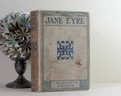 Jane Eyre - Charlotte Brontë - Antique Hardcover Edition