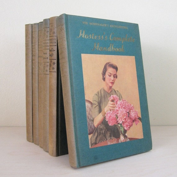 Reserved - Instant Collection - 6 Vintage How To Books for the Home