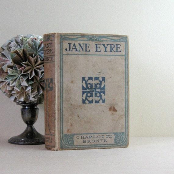 Jane Eyre Charlotte Brontë Antique Hardcover Edition
