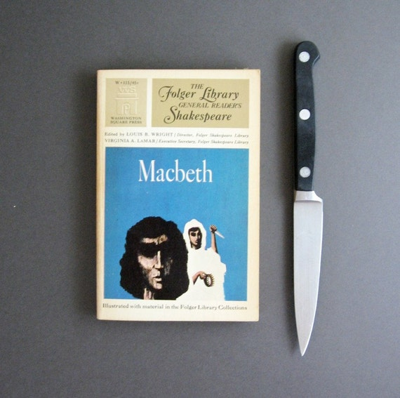 Macbeth - Shakespeare Play - Vintage 1960s Paperback Book