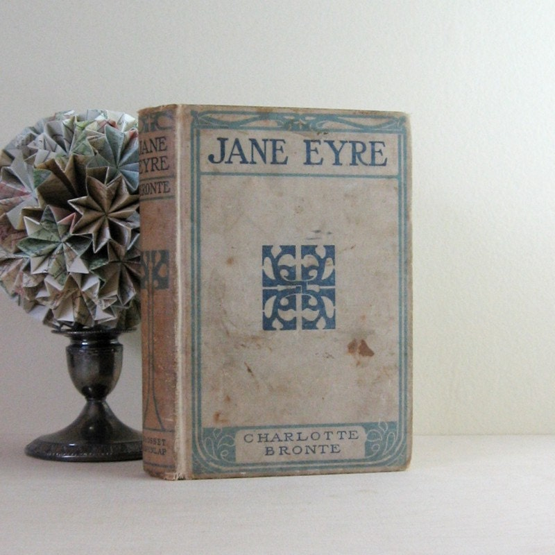 Jane Eyre Charlotte Bront 235 Antique Hardcover Edition
