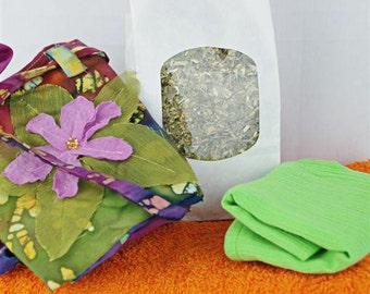 Lotus Birth Kit - Batik Unlined with Applique