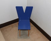 """Letter """"Y"""" Chair"""