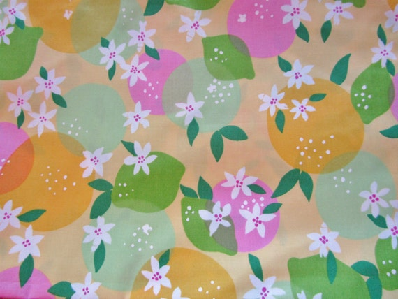 Lilly Pulitzer fabric Lemonade Orange Blossoms