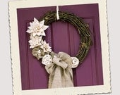 Rustic Sophistication: French Cottage Wreath
