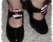 Custom Personalized Tap Dance Shoes Ties