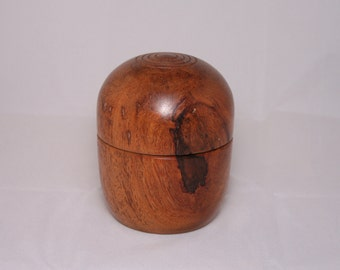 Peruvian Wood Burl Box