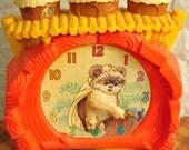 Star Wars Ewok Learning Clock Toy Wicket