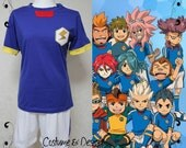 Team Japan Soccer Uniform from Inazuma Eleven