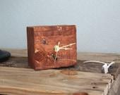 Small Reclaimed Pallet Clock