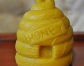 Honey Beehive Beeswax Candle