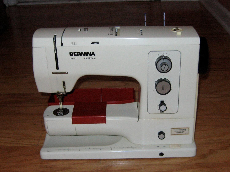 bernina record sewing machine