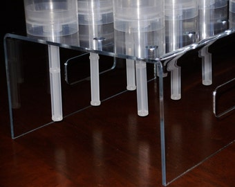 Push Pop Containers Acrylic Stand Holds 12 Push Pop Containers