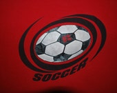 Soccer Russell ThrifTee Gear Reusable Lunch Bag, Wet Bag, Anything Bag Free Shipping