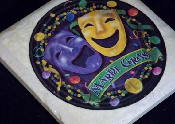 New Orleans Mardi Gras Coaster