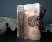 The Copper Tree Coptic Stitched Art/Writer Journal