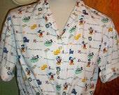 Vintage Disney Short Sleeve Top Mickey Mouse